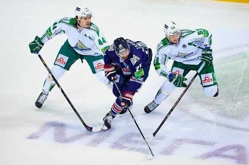 """""""Metallurg"""" from Magnitogorsk in a step from the Final of the Gagarin Cup (video)"""