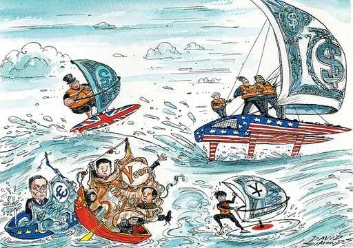 America is pulling one way, China the other: will the global economy sink or swim?