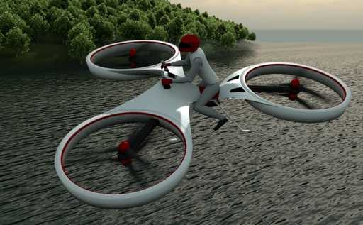 World's first flying bike unveiled in Dubai